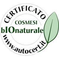 Autocert - Certificato Cosmesi BioNaturale