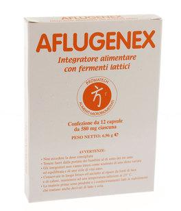 Aflugenex - Integratore Alimentare con Fermenti Lattici, Gingseng, Magnesio e Vitamina C
