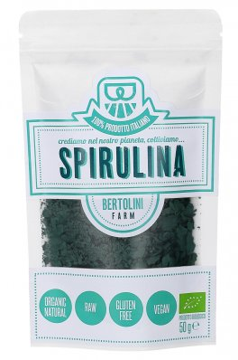Alga Spirulina Bio a Scaglie in Busta