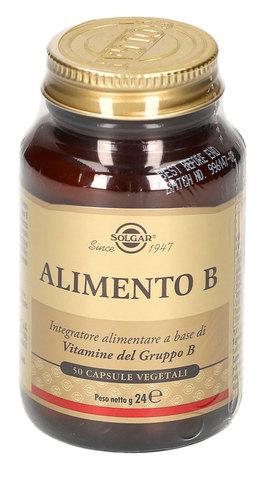 Alimento B - Integratore di Colina, Vitamina B6, Acido Folico e Vitamina B12