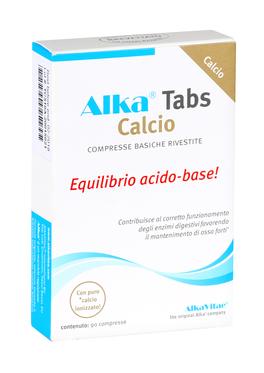 Alka Tabs Calcio - Compresse deacidificanti con calcio puro
