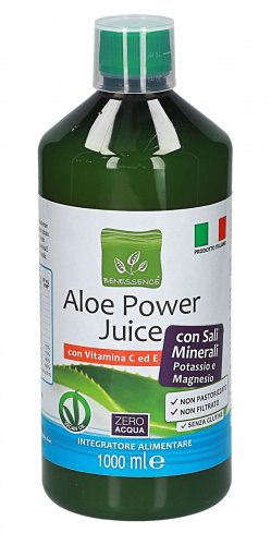 Aloe Power Juice con Potassio e Magnesio