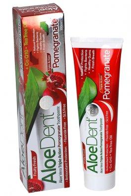AloeDent Pomegranate - Dentifricio all'Estratto di Melograno