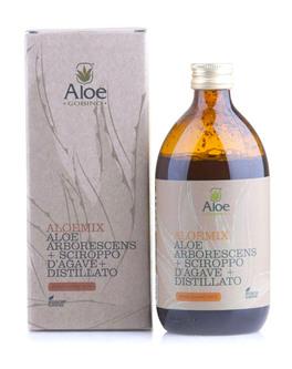 Aloemix - Aloe Arborescens + Sciroppo d'Agave + Distillato