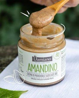 Amandino - Crema di Mandorle Sgusciate Bio, Italiane