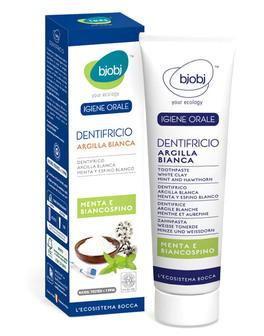 Dentifricio Argilla Bianca - Menta e Biancospino