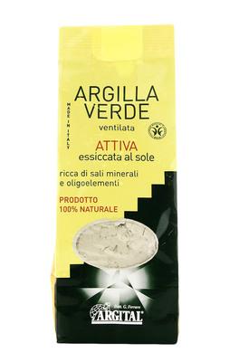 Argilla Verde Ventilata Attiva - Essiccata al Sole