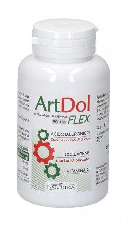 Artdol Flex - Integratore di Acido Ialuronico, Collagene e Vitamina C