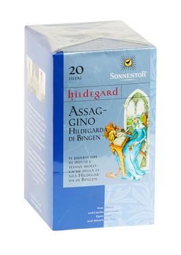 Assaggino Hildegarda di Bingen - 11 Infusi e tisane