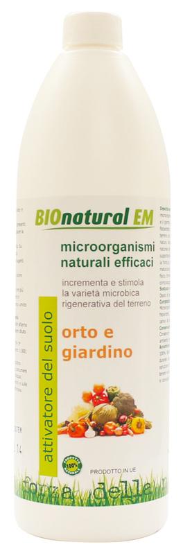 Attivatore del Suolo - Orto e Giardino - 200 ml