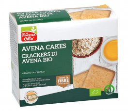 Avena Cakes - Crackers di Avena