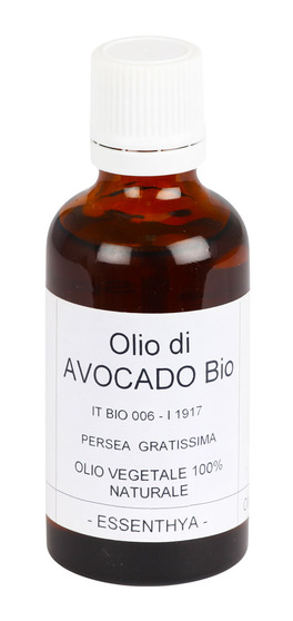 Olio di Avocado Bio - Olio Vegetale 100% Naturale - 50 ml