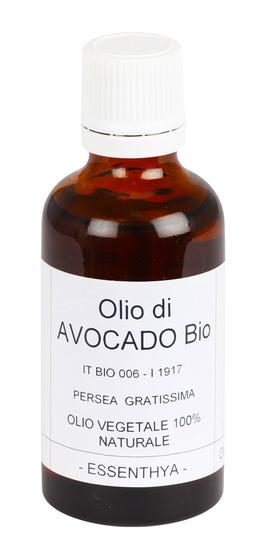 Olio di Avocado Bio - Olio Vegetale 100% Naturale - 50 ml