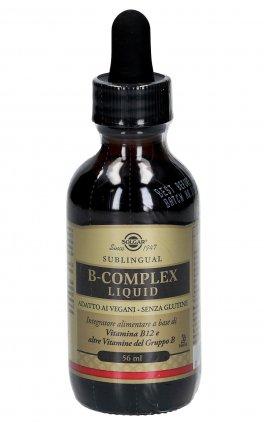 B-Complex Liquid - Integratore di Vitamine B12, B1, B2, B3, B6, Biotina e Folato in Gocce
