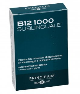 B12 1000 Sublinguale - Integratore di Vitamina B12