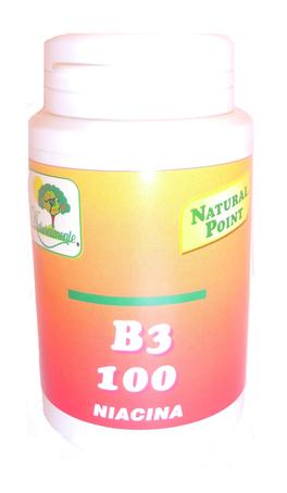 Vitamina B3 100 - Niacina - 100 Capsule