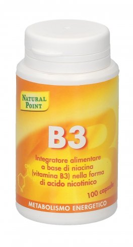 B3 Niacina - Integratore Alimentare a base di Vitamina B3
