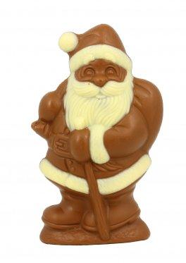 Babbo Natale di Cioccolata al Latte Intero Decorato