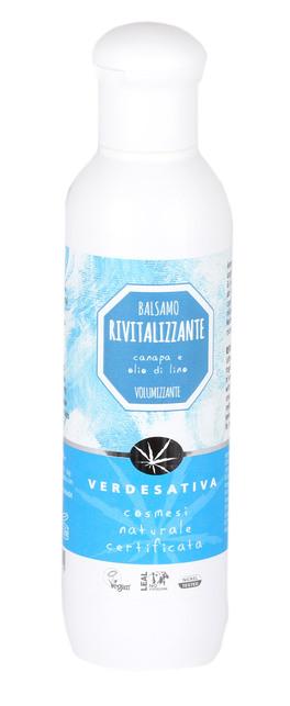 Balsamo Capelli Rivitalizzante - Canapa e Olio di Lino
