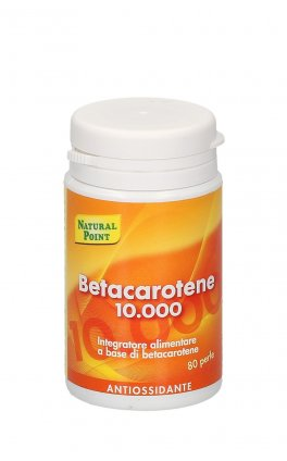Betacarotene 10.000 - Integratore in Perle