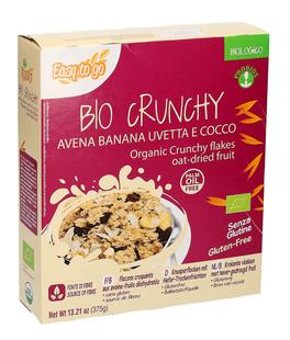 Bio Crunchy - Avena Banana Uvetta e Cocco