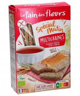 Tartine Tostate Multicereali Bio, Senza Zuccheri e Grassi Aggiunti