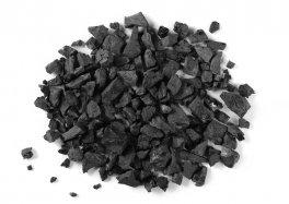 Biochar - Carbone Granulare di Origine Vegetale - Sacco da 10 kg