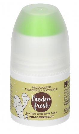 Biodeo Fresh - Tea Tree, Zenzero e Lime