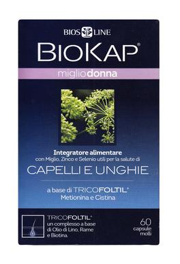 Biokap Miglio Donna - Capelli e Unghie - Capsule Molli