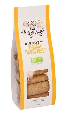 Biscotti di Farro e Farro Monococco Integrale