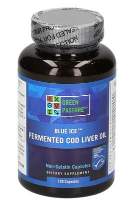 Blue Ice - Olio di Fegato di Merluzzo Fermentato - In capsule