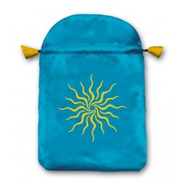 "Borsetta per Tarocchi in Raso o ""Sole"" (Sunlight) - Tarot Bag"