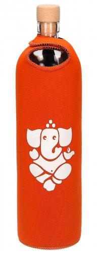 Bottiglia Flaska Spiritual Ganesha - Arancione