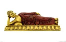 Buddha in posizione Nirvana