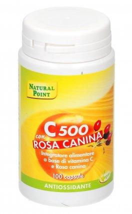 Vitamina C 500 con Rosa Canina
