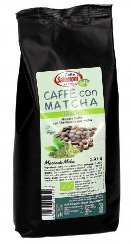 Caffè con Matcha - Miscela di Caffè con Thè Macha per Moka