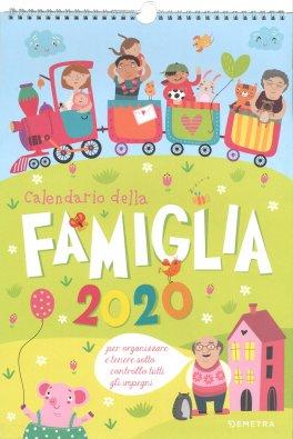 Calendario Fiere Alimentari 2020.Calendario Della Famiglia 2020 Calendario