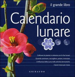 Calendario Lune.Calendario Lunare Libro