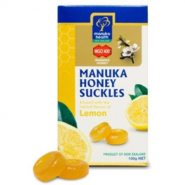 Caramelle con Miele di Manuka e Limone - MGO 400