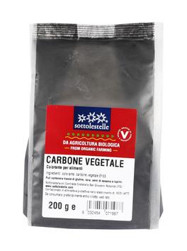 Carbone Vegetale - Colorante per Alimenti
