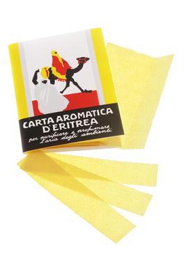 Carta Aromatica d'Eritrea 24 listelli