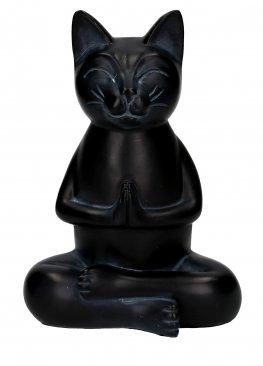 Statuetta Gatto in Meditazione - Cat in Meditation