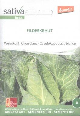 Semi di Cavolo Cappuccio Bianco Filderkraut
