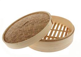Cestello per Cottura a Vapore in Bambù