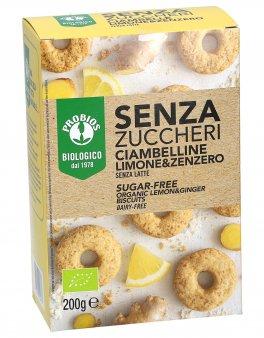 Ciambelline Limone e Zenzero - Senza Zuccheri