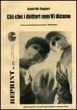 Ciò che i Dottori non Vi Dicono - Volume 2