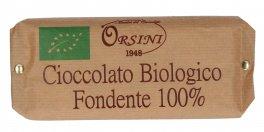 Cioccolato Biologico Fondente 100%