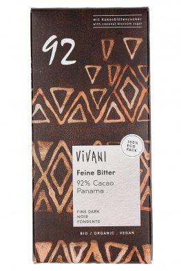 Tavoletta di Cioccolato Fondente 92%