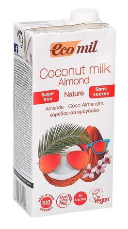 Coconut Milk Almond - Latte di Cocco Mandorla senza Zuccheri
