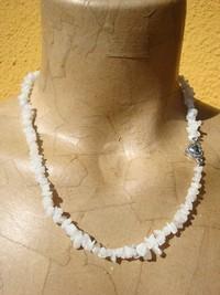 Collana in Pietra del Luna - Moonstone Grezza - Cod 2